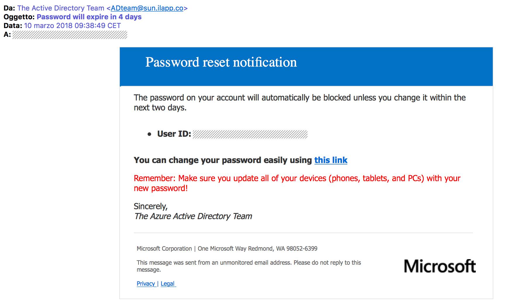 Password Expire