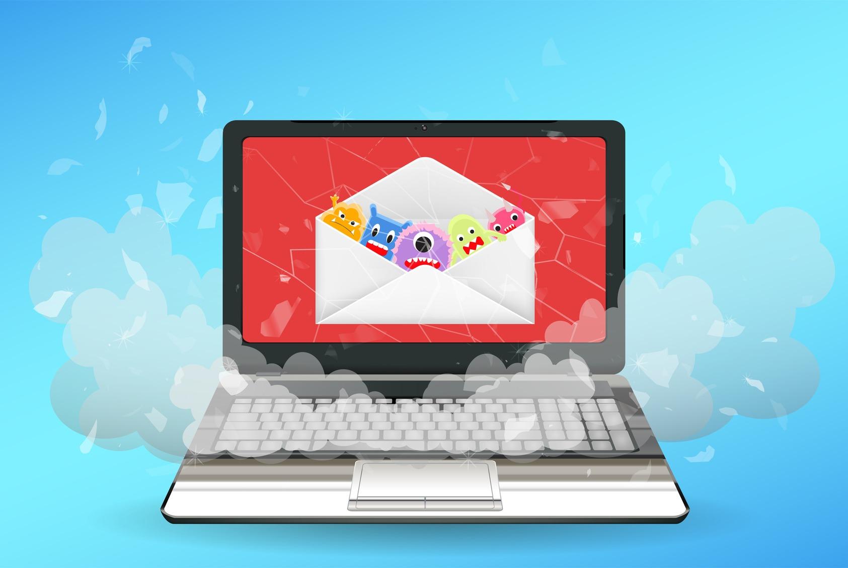 mail che contiene un malware
